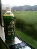 豪雨で遅れる福知山線輪行、丹波へ