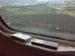 東海道新幹線での通信