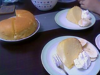 風邪の日ケーキ