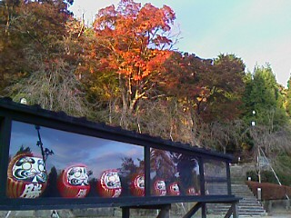 箕面紅葉の天ぷら狩り